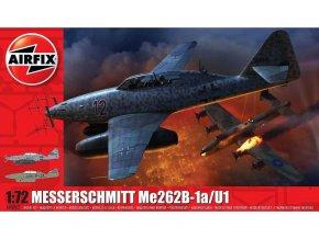 Airfix - Messerschmitt Me 262B-1a Schwalbe, Classic Kit A04062, 1/72