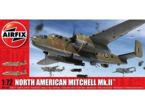 Airfix - North American Mitchell Mk.II / B-25 Mitchell, Classic Kit A06018, 1/72