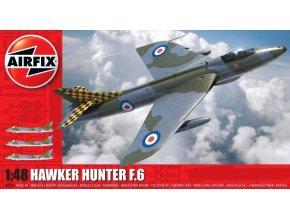 Airfix - Hawker Hunter F6, Classic Kit A09185, 1/48
