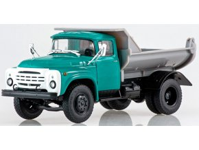 Russian Trucks - ZIL-MMZ-555, sklápěčka, 1/43