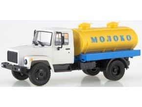 Russian Trucks - GAZ-3307 G6-OTA-4,2, cisterna na mléko, 1/43