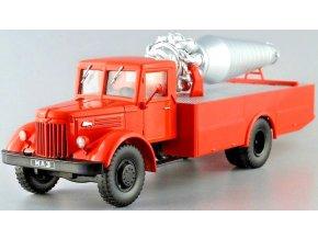 MODIMIO - MAZ-200 AGVT-200, hasiči, 1/43