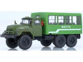 Russian Trucks - ZIL-131 Vahta 32104, BUS, 1/43