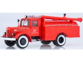 Russian Trucks - MAZ-205 AC-30, hasiči, 1/43