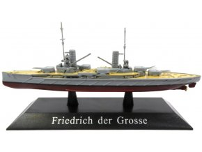 De Agostini - bitevní loď SMS Friedrich der Grosse, 1912, 1/1250