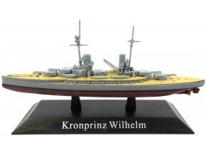 De Agostini - bitevní loď SMS Kronprinz Wilhelm, 1914, 1/1250