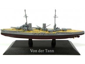 De Agostini - bitevní křižník SMS Von der Tann, 1910, 1/1250