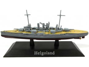 De Agostini - dreadnought SMS Helgoland, 1911, 1/1250