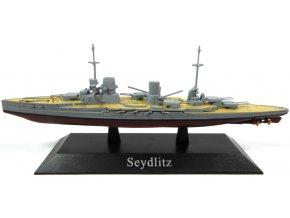 De Agostini - bitevní křižník SMS Seydlitz, 1913, 1/1250