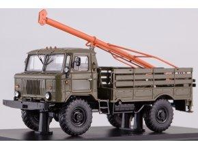 Start Scale Models - GAZ-66 BM-302, vrtná souprava, 1/43