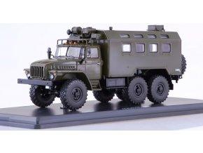 Start Scale Models - UrAL-4320, armádní, 1/43