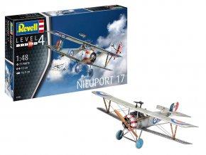 Revell - Nieuport 17, Plastic ModelKit 03885, 1/48