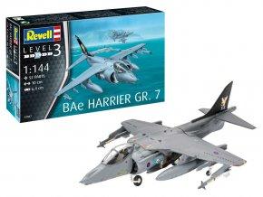 Revell - BAe Harrier GR.7, Plastic ModelKit 03887, 1/144