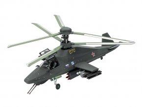 Revell - Kamov Ka-58 Black Ghost, Plastic ModelKit 03889, 1/72
