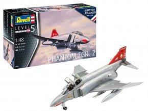 Revell - British Phantom FGR Mk.2, Plastic ModelKit 04962, 1/48
