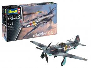 Revell - Yakovlev Yak-3, ModelSet 63894, 1/72