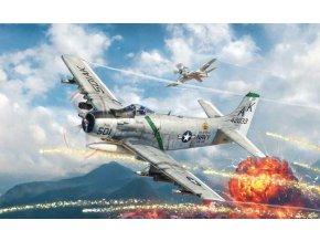 Italeri - Douglas A-1H Skyraider, USAF / US NAVY, Model Kit 2788, 1/48
