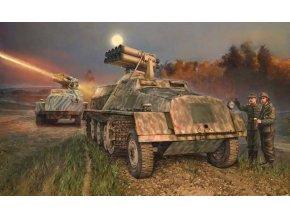 Italeri - 15 cm Panzerwerfer 42 auf SWS, Model Kit 6562, 1/35