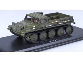 Start Scale Models - GAZ-47, sovětský pásový transportér, 1/43