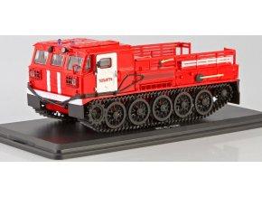 Start Scale Models - ATS-59G, sovětský pásový transportér, hasiči, 1/43