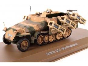 Atlas Models - Sd.Kfz.251 ''Hakl'' s Wurfrahmen, Wehrmacht, 1943, 1/43