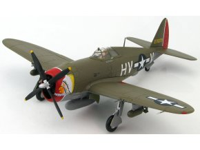 "HobbyMaster - Republic P-47D Razorbac, USAAF 56th FG, ""Little Chief"", 1944, 1/48"