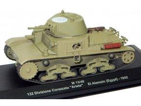 Eaglemoss - Fiat M13/40, 132. divize 'Ariete', El Alamein, 1942, 1/43