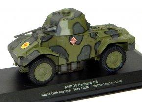 Eaglemoss - AMD 35 Panhard 178, 6th Cuirassiers, Nizozemí, 1940, 1/43