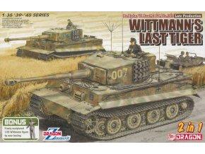 Dragon - Pz.Kpfw.VI Ausf.E Tiger I., 007 - poslední tank Michaela Wittmanna, Model Kit 6800, 1/35
