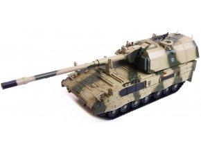 Panzerkampf - samohybná houfnice Panzerhaubitze 2000, 1/72