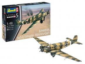 "Revell - Junkers Ju52/3m ""Tante Ju"", Plastic ModelKit 03918, 1/48"