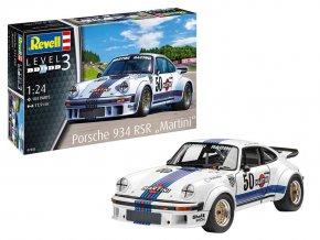 """Revell - Porsche 934 RSR """"Martini"""", Plastic ModelKit 07685, 1/24"""