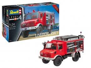 Revell - Schlingmann Unimog RW1, Plastic ModelKit 07531, 1/24