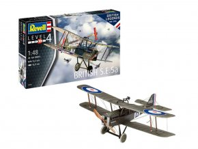 Revell - Royal Aircraft Factory S.E.5a, British Legends, ModelSet 63907, 1/48