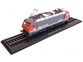 Atlas Models - lokomotiva Re 4/4 IV Nr. 10101, Švýcarsko, 1982, 1/87