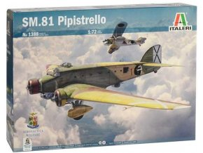 Italeri - Savoia-Marchetti SM.81 Pipistrello, Model Kit 1388, 1/72