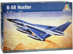 Italeri - Convair B-58 Hustler, Model Kit 1142, 1/72
