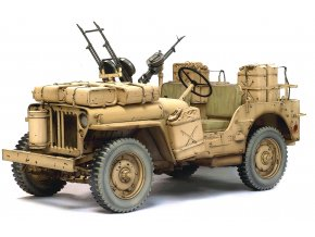 Dragon - Jeep Willys MB, SAS 4x4 Desert Raider, Model Kit 75038, 1/6