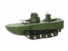 Dragon Armor - Mitsubishi Type 2 Ka-Mi, obojživelný tank, Filipíny, 1944, 1/72