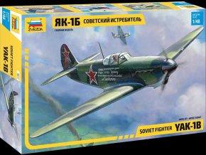 Zvezda - Yakovlev Yak-1B, Model Kit 4817, 1/48