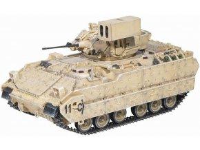 Dragon - M2A3 Bradley,  US Army Linebacker, Infantry Fighting Vehicle w/FAAD, 1/72