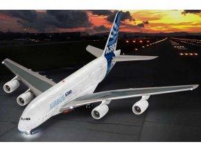Revell - Airbus A380-800, Plastic ModelKit TECHNIK 00453, 1/144