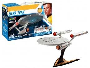 Revell - Star Trek - USS Enterprise NCC-1701, Plastic ModelKit TECHNIK 00454, 1/600