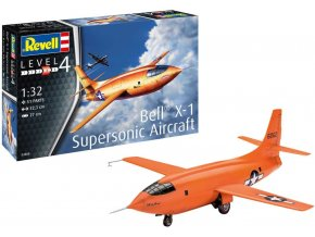 Revell - Bell X-1 Supersonic Aircraft, Plastic ModelKit 03888, 1/32