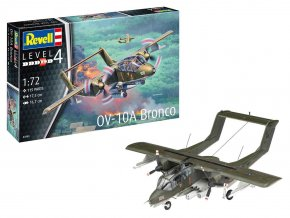 Revell - North American Rockwell OV-10A Bronco, ModelSet 63909, 1/72