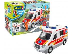 Revell - sanitní vozidlo, Junior Kit 00824, 1/20