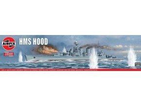 Airfix - HMS Hood, Classic Kit VINTAGE A04202V, 1/600