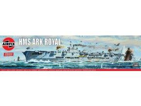 Airfix - HMS Ark Royal, Classic Kit VINTAGE A04208V, 1/600