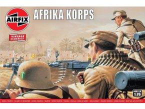 Airfix - figurky německých vojáků, Deutsches Afrika Korps, Classic Kit VINTAGE A00711V, 1/76