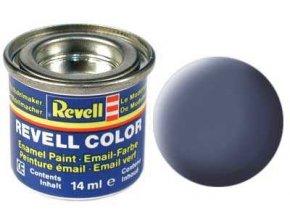 Revell - Barva emailová 14ml - matná šedá (grey mat), 32157